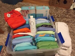 Cloth diaper starter kit