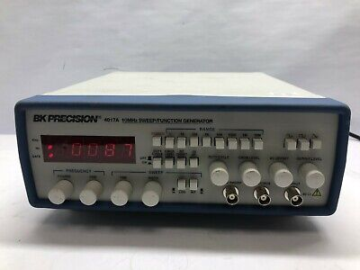 Bk Precision 10mhz Sweepfunction Generator Model 4017a