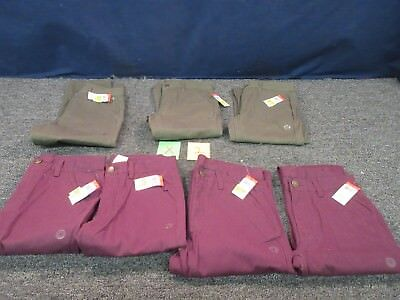 7 BOYS YOUTH KIDS SIZE 12 LG PANTS JEAN CLOTHING GREEN MAROO