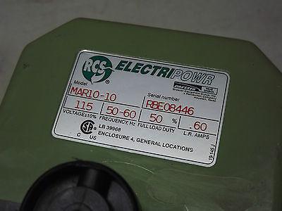 Ge Rcs Electripowr Electric Rotary Valve Actuators Mar10-10 115vac Electrpower