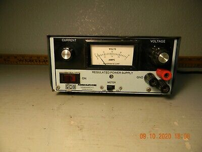 Powermate Corp. Regulated Power Supply Volts-amps.