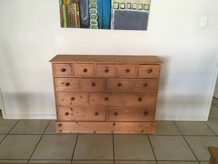 5432 DRAWER SET IN PINE TO MATCH DINING TABLE CHAIR FOR SALE