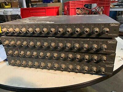 Lot Of 4 - Audio Precision Swr-2755u Audio Unbalanced Switcher Analyzer