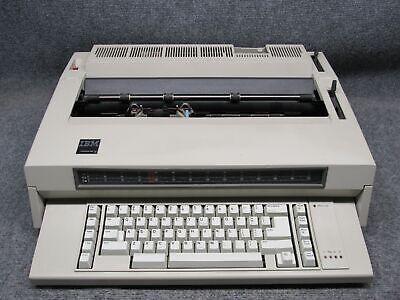 Vintage Ibm Wheelwriter 3 Type 674x Electronic Typewriter 1984 Working