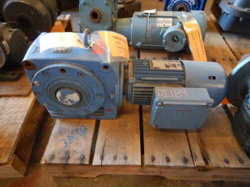 NEW Sew Eurodrive 8A60DT80N88MHR Speed Reducer & Motor .33 HP 204.72:1 Ratio NEW