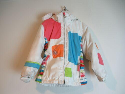 Obermeyer Hooded Jacket I-GROW Ski Snow Girls Size 5