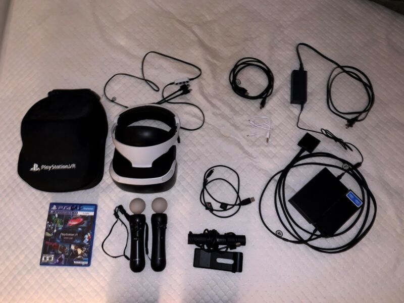 Playstation VR Bundle - Excellent Condition