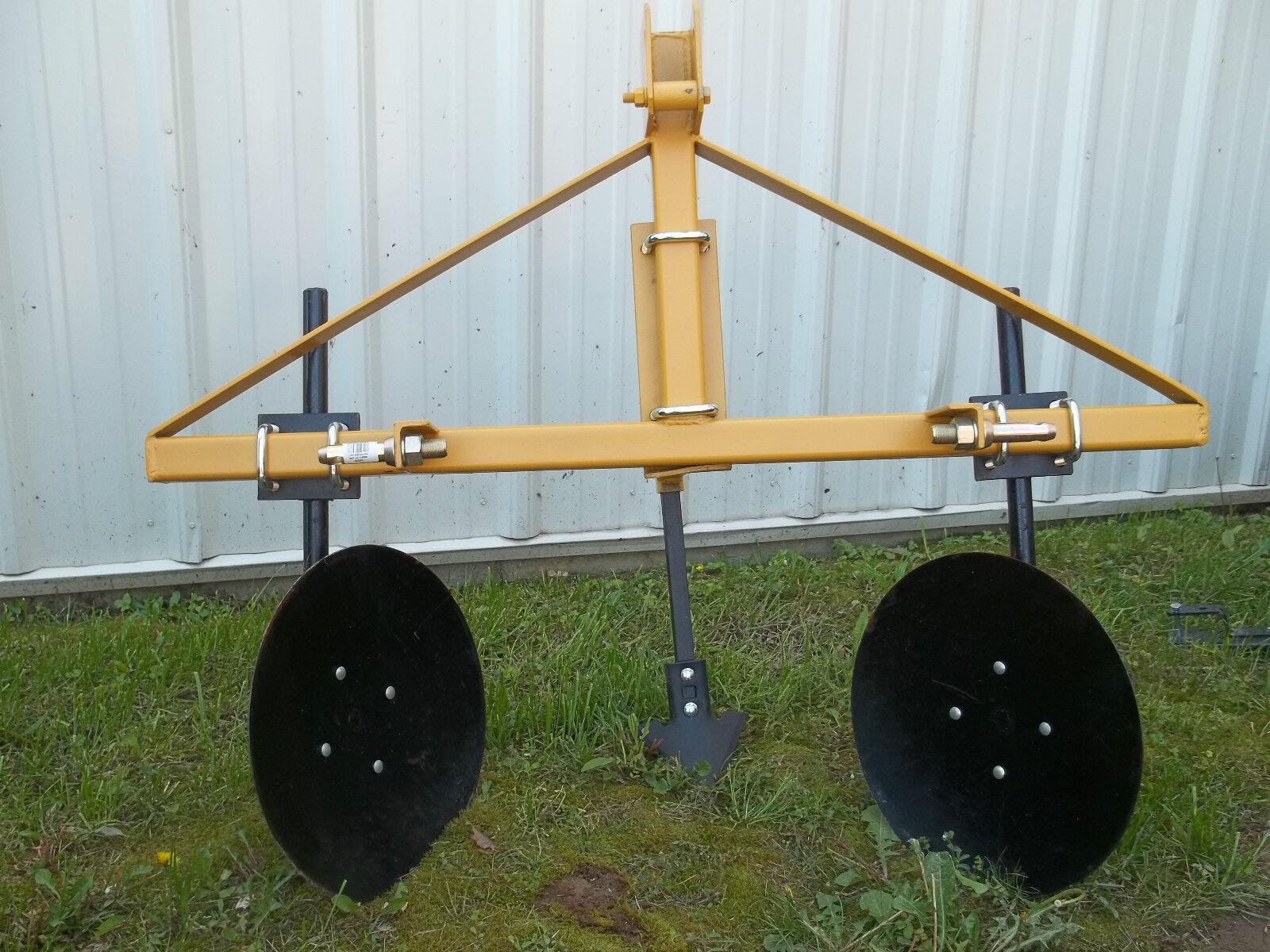 rei 3 pt hitch disc bedder garden bedder disc harrows heavy equipment attachments