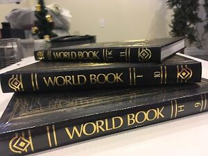 Works book encyclopedia, 2001, entire set.