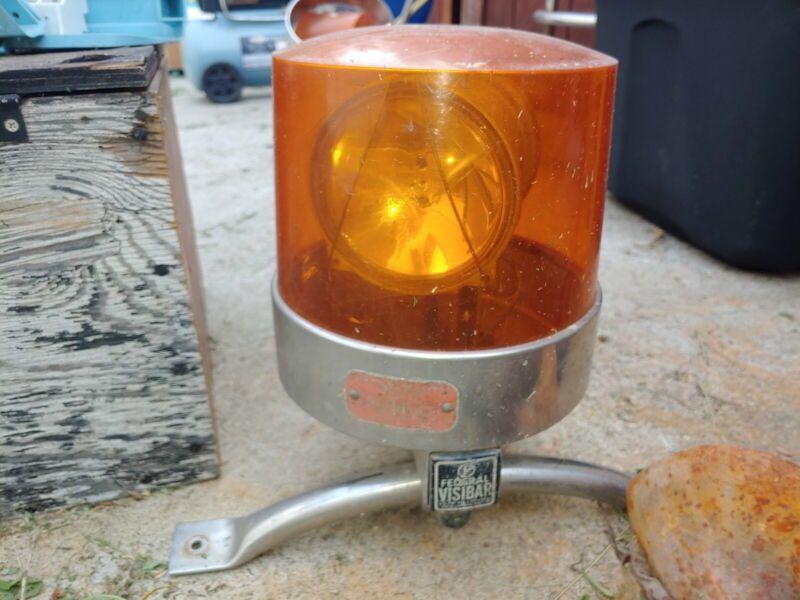 Vintage Beacon Twin Ray Model 11  Visibar Rotating Tow Truck Light Bar