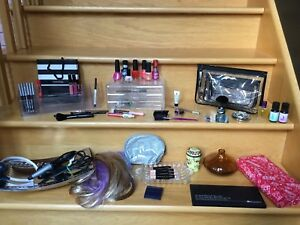Mac makeup bags, brushes and Beauty Lot all for $45