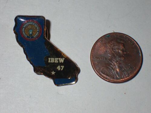 IBEW Collectible Lapel Pin Local 47 California