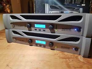 2 Crown Xti series 2 professional power amplifiers Palm Beach Gold Coast South Preview