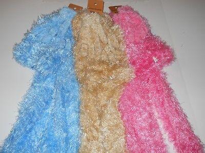 Womens Winter Mitt (Womens winter 3-piece fluffy hat glove scarf)