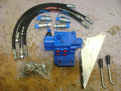 5610 6610 7610 Ford Tractor Double Spool Remote Hydraulic Valve Kit