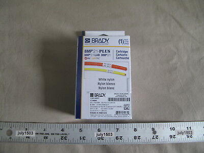 1 New Brady Label Cartridge M21-750-499 Blackwhite Nylon 34 X 16 Bmp21