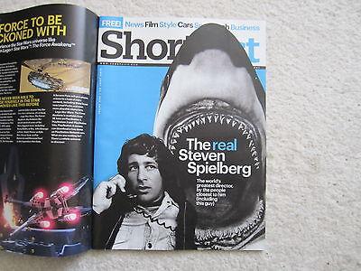 Steven Spielberg – Donald Trump - Shortlist Magazine –30 June 2016