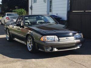 Mustang Fox convertible