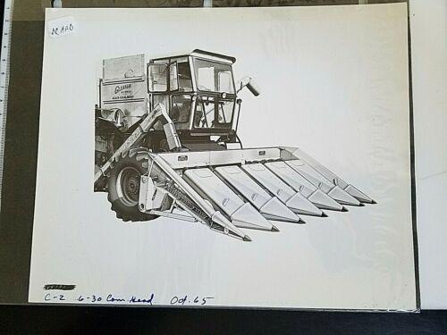 ACAAB Allis-Chalmers 8 x 10 PHOTO MEDIA PROMOTION ARCHIVE BALDWIN GLEANER CORN