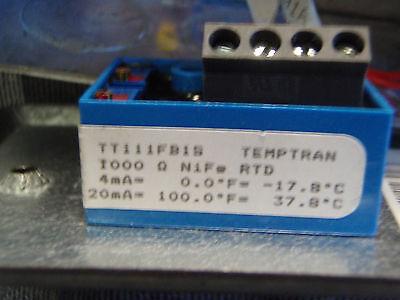 Minco Temptran Rtd Transmitter Tt111fb1s With Rtd 4-20ma 0-100f