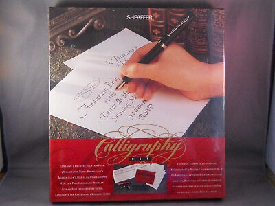 Sheaffer Vintage No-nonsense Boxed Calligraphy Set-NEW OLD STOCK