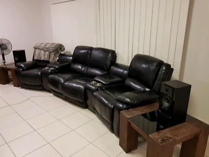 Leather Cinema Lounge