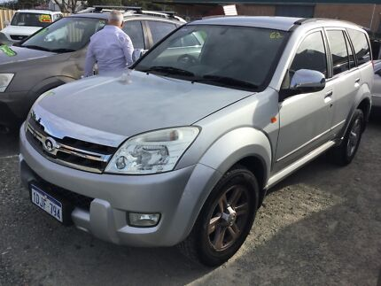 2010 Great Wall X240 4x4 man Wagon only 96,000 klms