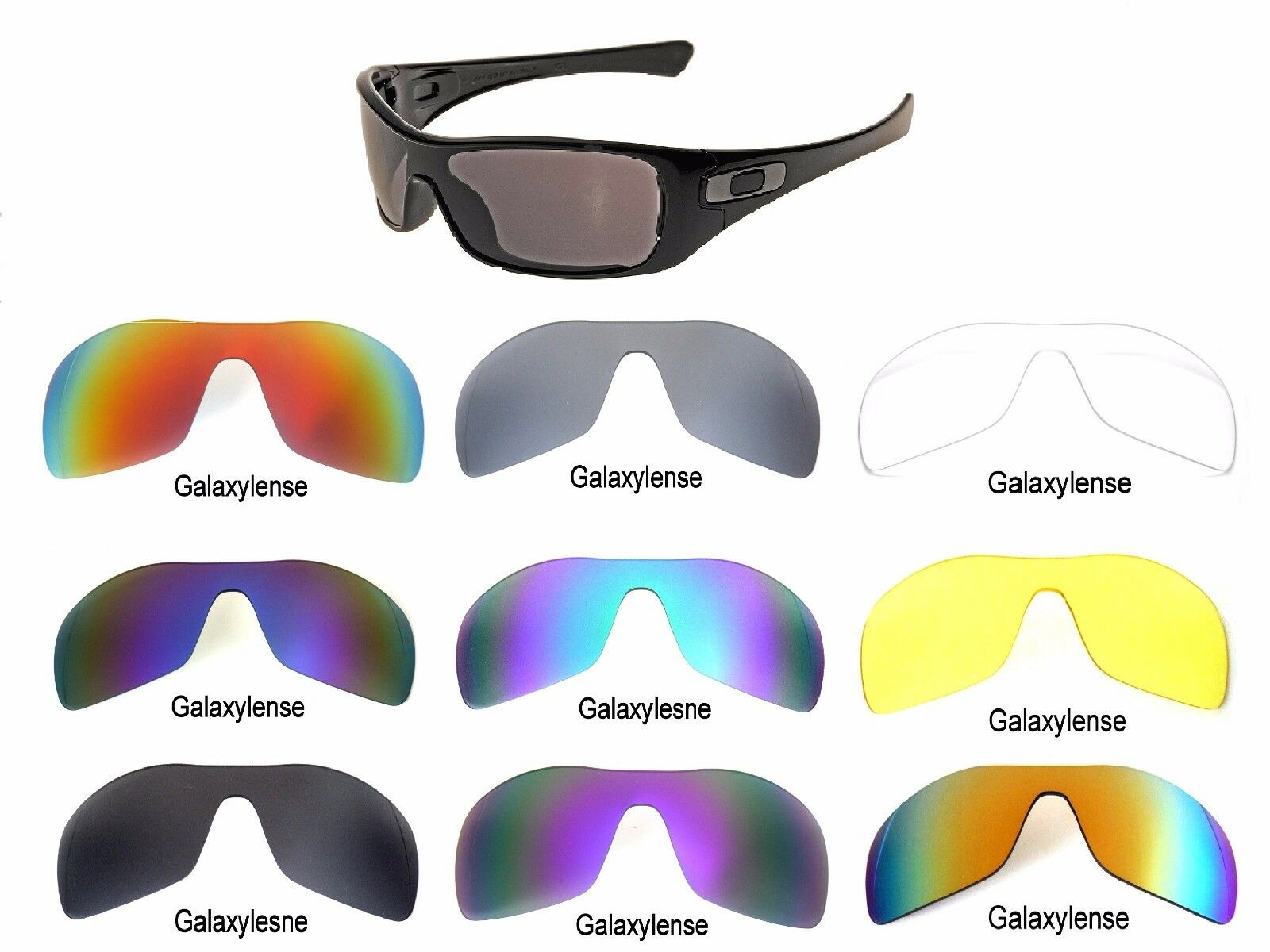 a2f1fd0e6b Galaxy Replacement Lenses For Oakley Antix Sunglasses Multi-Selection  Polarized