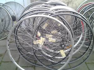 Refurbished bike bicycle wheels, 700c road front Maribyrnong Maribyrnong Area Preview