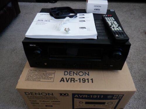 Denon AVR-1911 7.1 Channel AV Surround Sound Home Theater HDMI Receiver (Black)