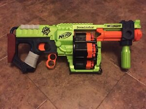 Nerf Doominator with Brand New Bullets