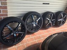 20 inch Konig Mag Wheels R33 Skyline Rims Buff Point Wyong Area Preview