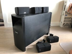 Bose Acoustimass 10 speakers