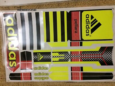 Used, CRICKET BAT STICKER WITH EMBOSS for sale  Shipping to India