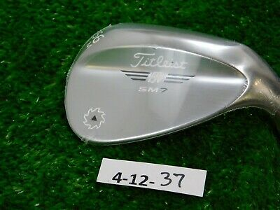 Titleist Vokey SM7 Tour Chrome 56* 08* Sand Wedge M Grind Dynamic Gold Steel New