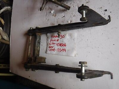 Honda swing arm arms shaft pivot SS50 S65 CL70 CD50 C110 C200 H2517