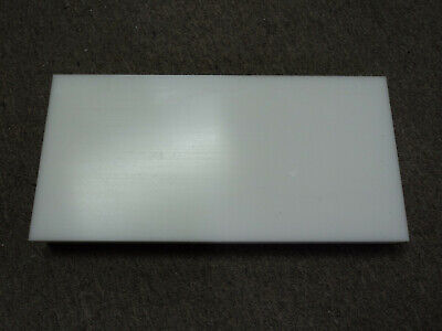 White Delrin Acetal Sheet 1 Pc. Cnc Mill 2.5 Thick