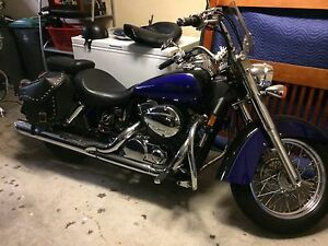 Pepsi blue/black Honda shadow  2006
