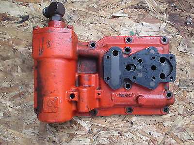 1966 Case 430 Gas Utility Tractor Transmission Hydraulic Cover Filter
