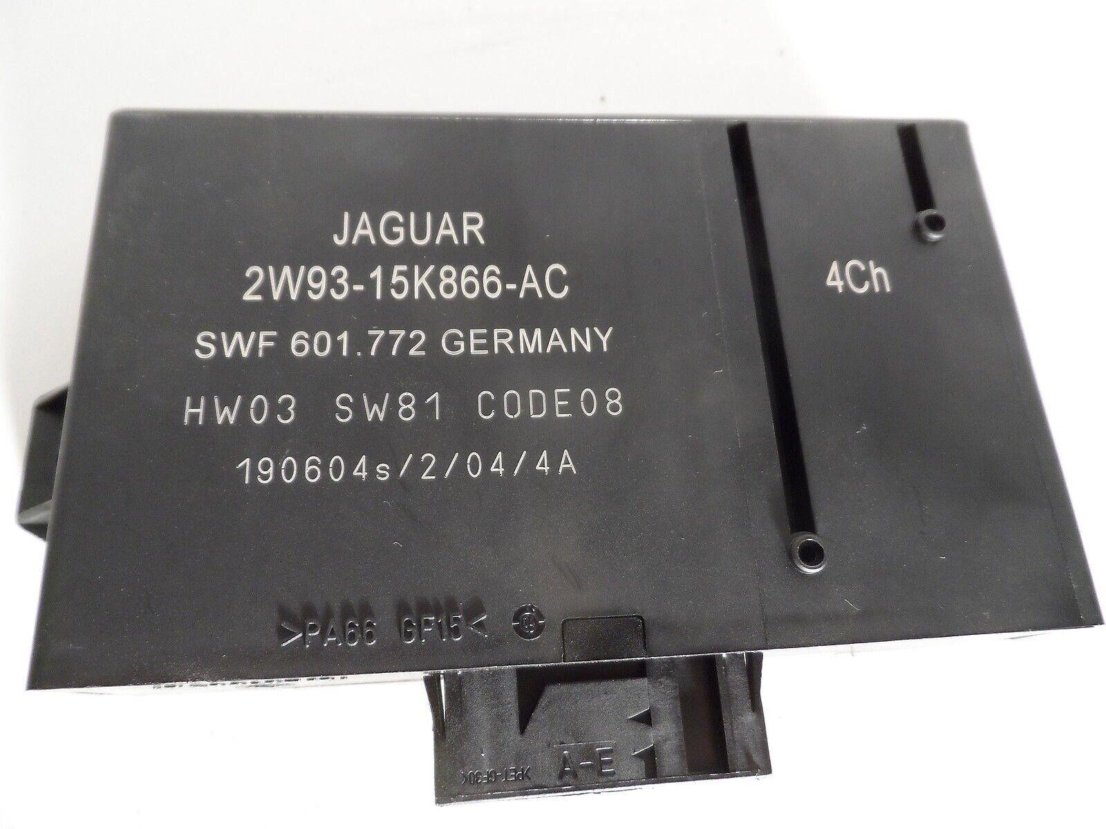 JAGUAR XJ8 XK8 XKR 1998-2003 OEM USED RELAY BROWN LJA 6703 AA LJA6703AA