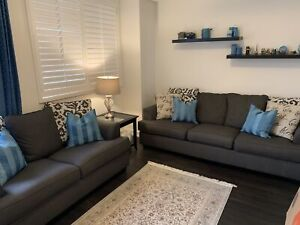 Sofa, love seat  and accent chair set