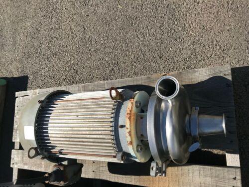 Waukesha 2065 15HP Sanitary Centrifugal Pump Stainless