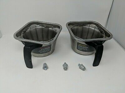 Fetco Stainless Steel Commercial Coffee Filter Brewer Cups Brew Baskets Cbs-2132