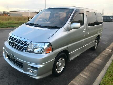 2002 Toyota Granvia 8 seater 6 mths rego