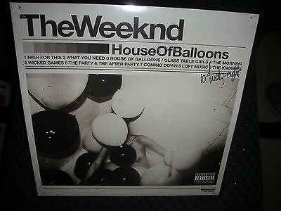 The Weeknd  ***House of Balloons **BRAND NEW DOUBLE RECORD LP VINYL