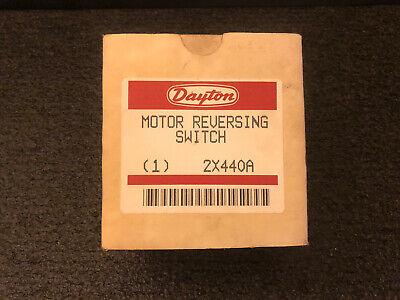 Daytona Motor Reversing Switch Model 2x440a Nos Drumn Switch Look