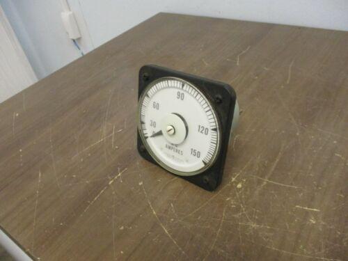 GE AB40 AC Ammeter 50-103131LSPZL Range: 0-150A Used