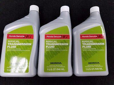 3-Quarts Genuine Honda Acura Manual Transmission Fluid MTF 08798-9031