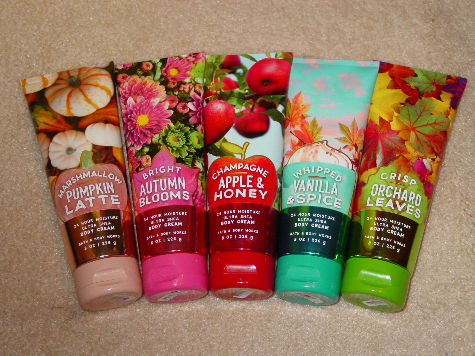 как выглядит BATH BODY WORKS BODY CREAM 8 OZ. SINGLES HOLIDAY AND MORE CHOOSE SCENT NEW фото