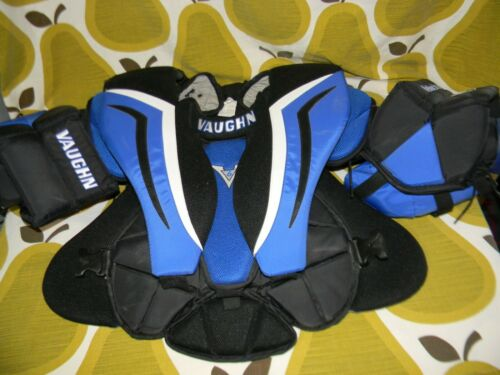 Vaughn V6 1000i Pro Intermediate hockey goalie chest & arm protector Medium